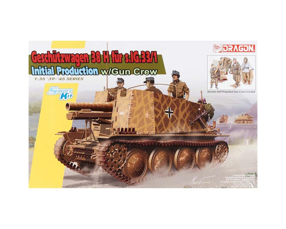 6857 1/35 Sd.Kfz.138/1 Geschutzwagen 38 H fur s.Ig by Dragon Models