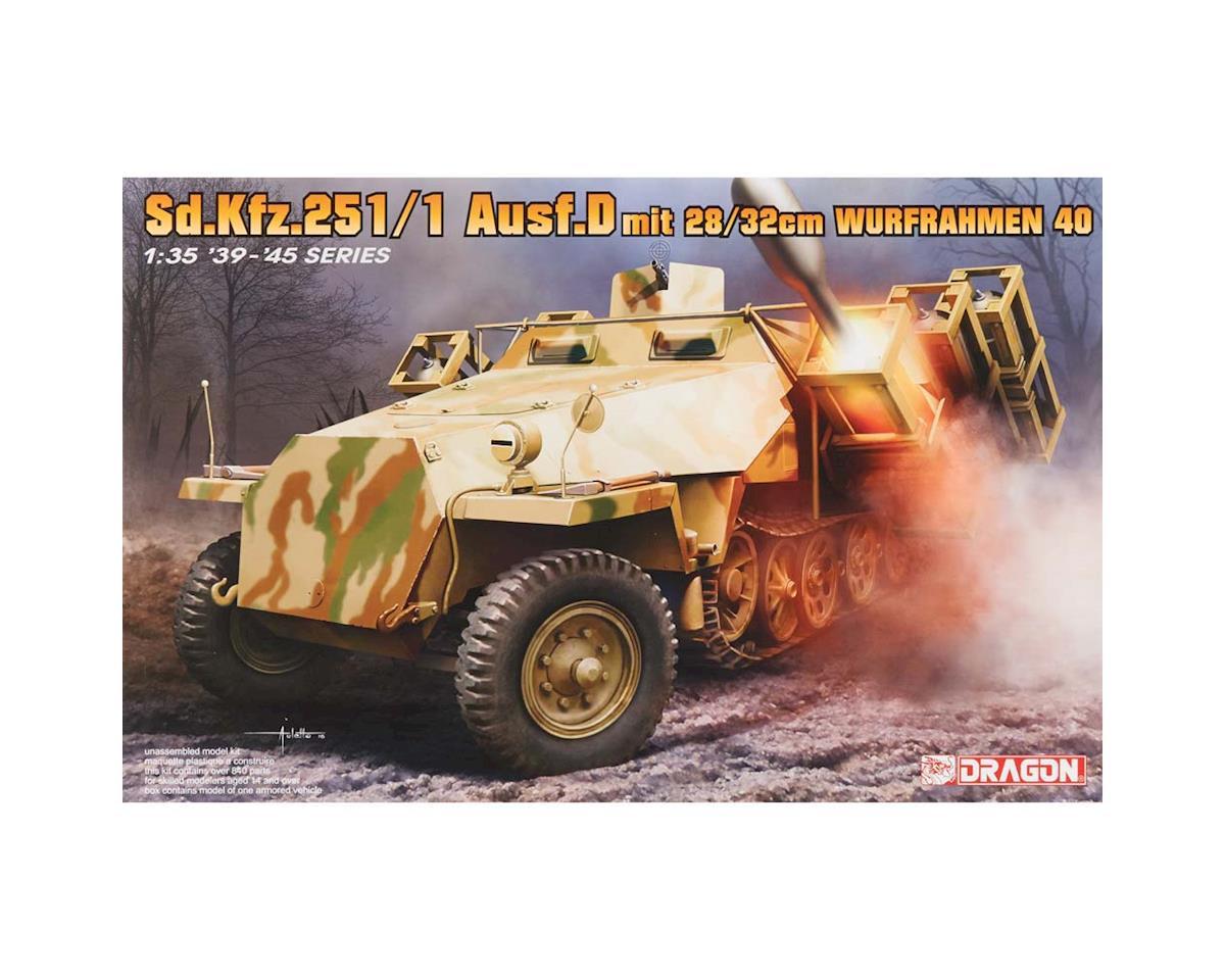 Dragon Models 6861 1/35 Sd.Kfz.251 Ausf.D w/28/32cm Wurfahmen 40