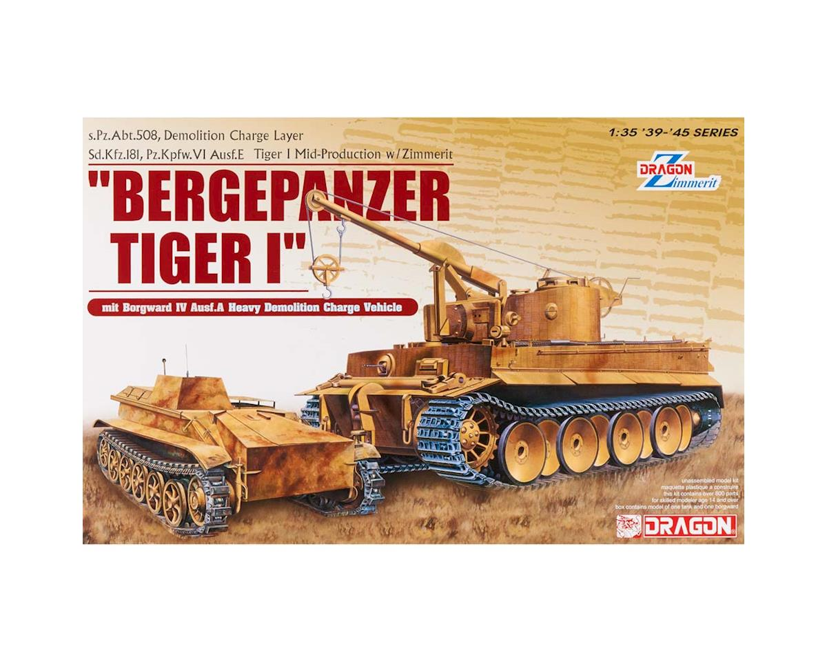 Dragon Models 1/35 Bergepanzer Tiger I s.Pz.Abt.508 Demolition