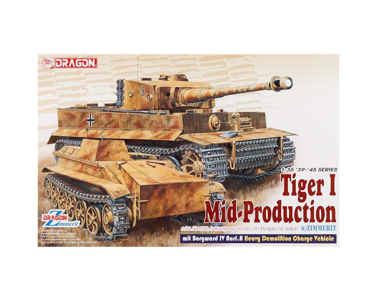Dragon Models 6866 1/35 Pz.Kpfw.VI Ausf.E Tiger I Hvy Demo Veh