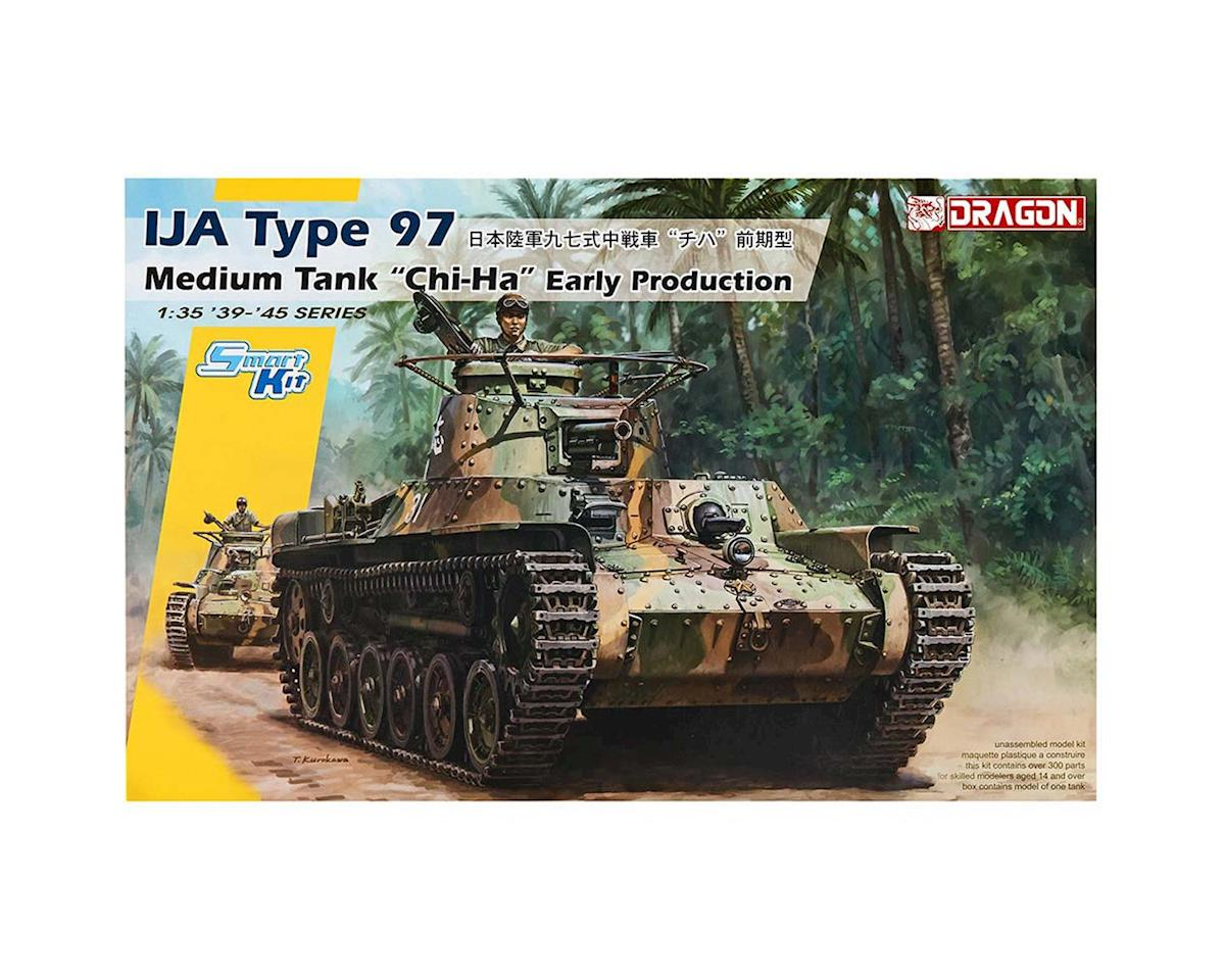 6870 1/35 IJA Type 97 Medium Tank Chi-Ha Early Prod. by Dragon Models