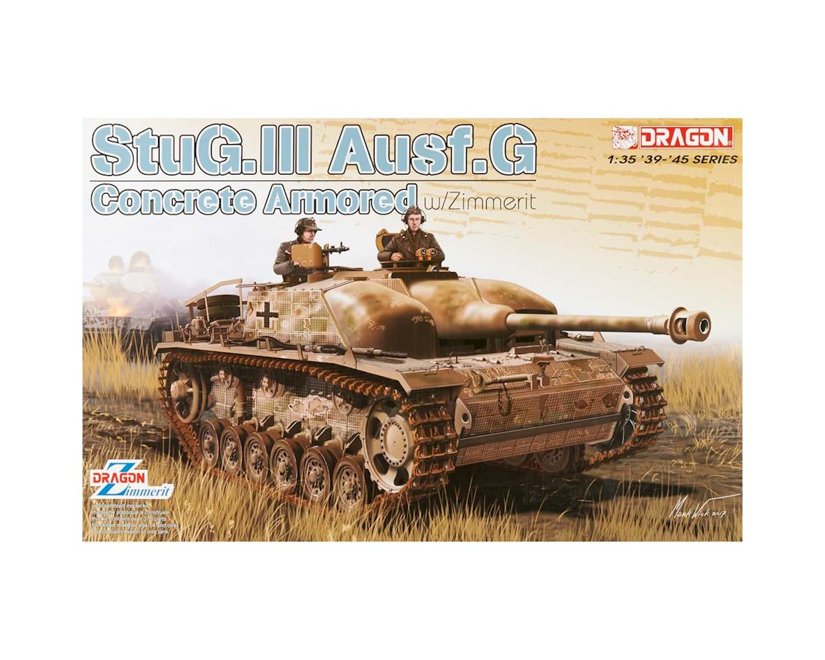 Dragon Models 6891 1/35 Concrete Armored StuG.III Ausf.G w/Zimmerit
