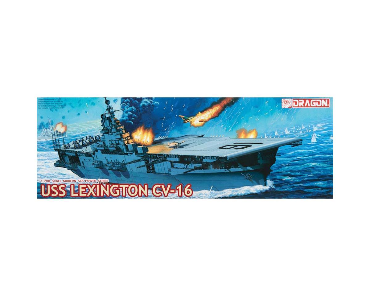 Dragon Models 7051 1/700 USS Lexington (CV-16)