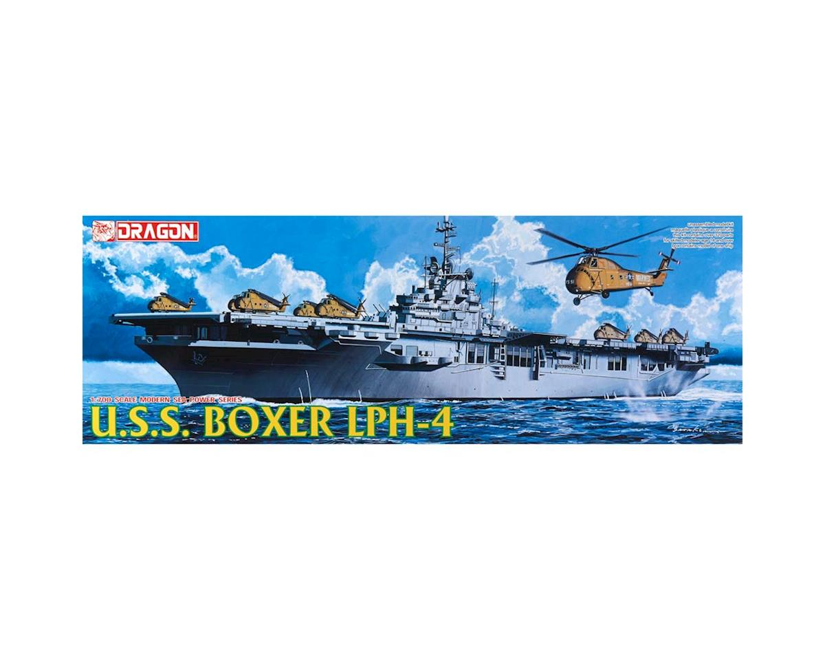 7070 1/700 USS Boxer LPH-4 Helicopter Carrier