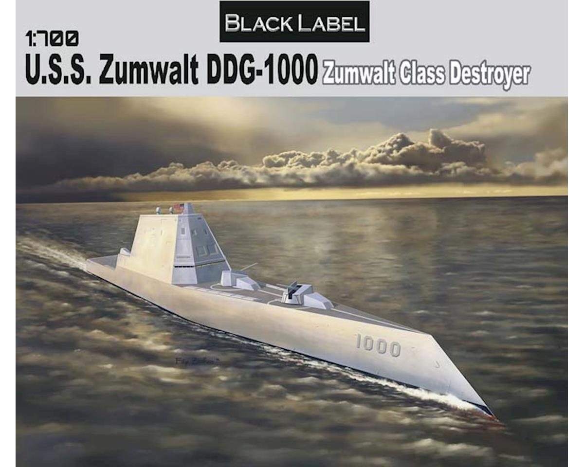 7141 1/700 USS Zumwalt Class Destroyer DDG-1000 Blk Lbl by Dragon Models