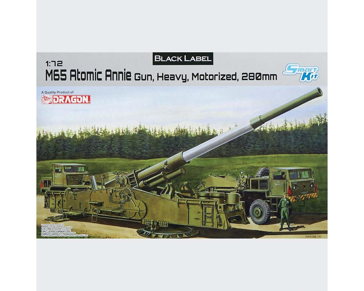 Dragon Models 7484 1/72 M65 Atomic Annie Gun Heavy Motorized 280mm