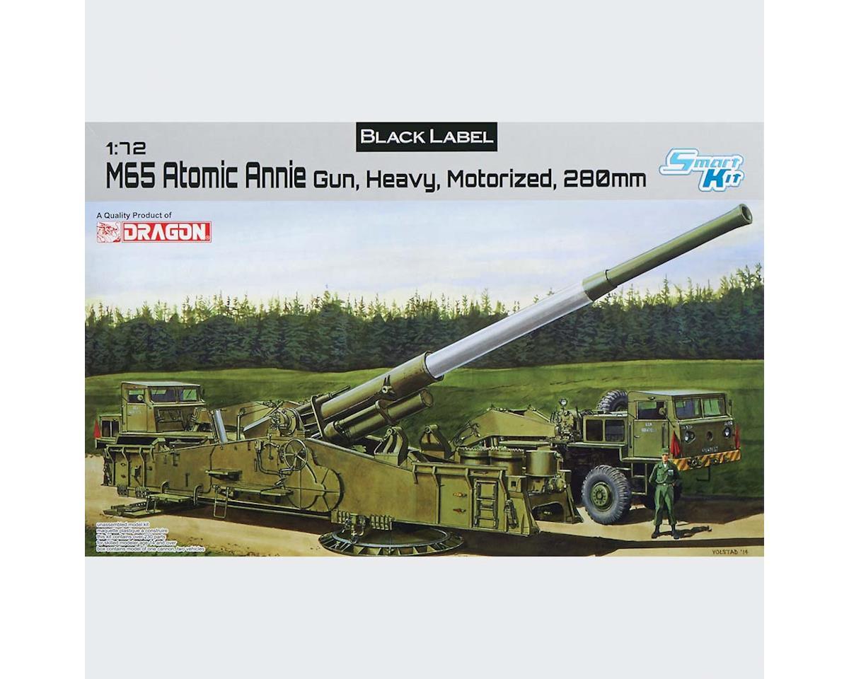 7484 1/72 M65 Atomic Annie Gun Heavy Motorized 280mm