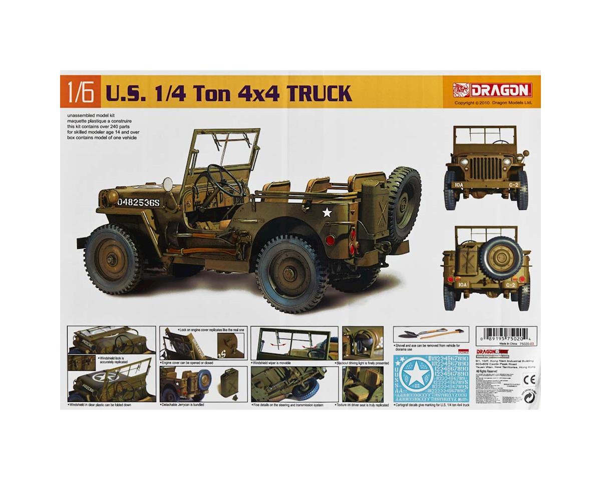 Dragon Models 75020 1/6 1/4 Ton 4x4 Truck