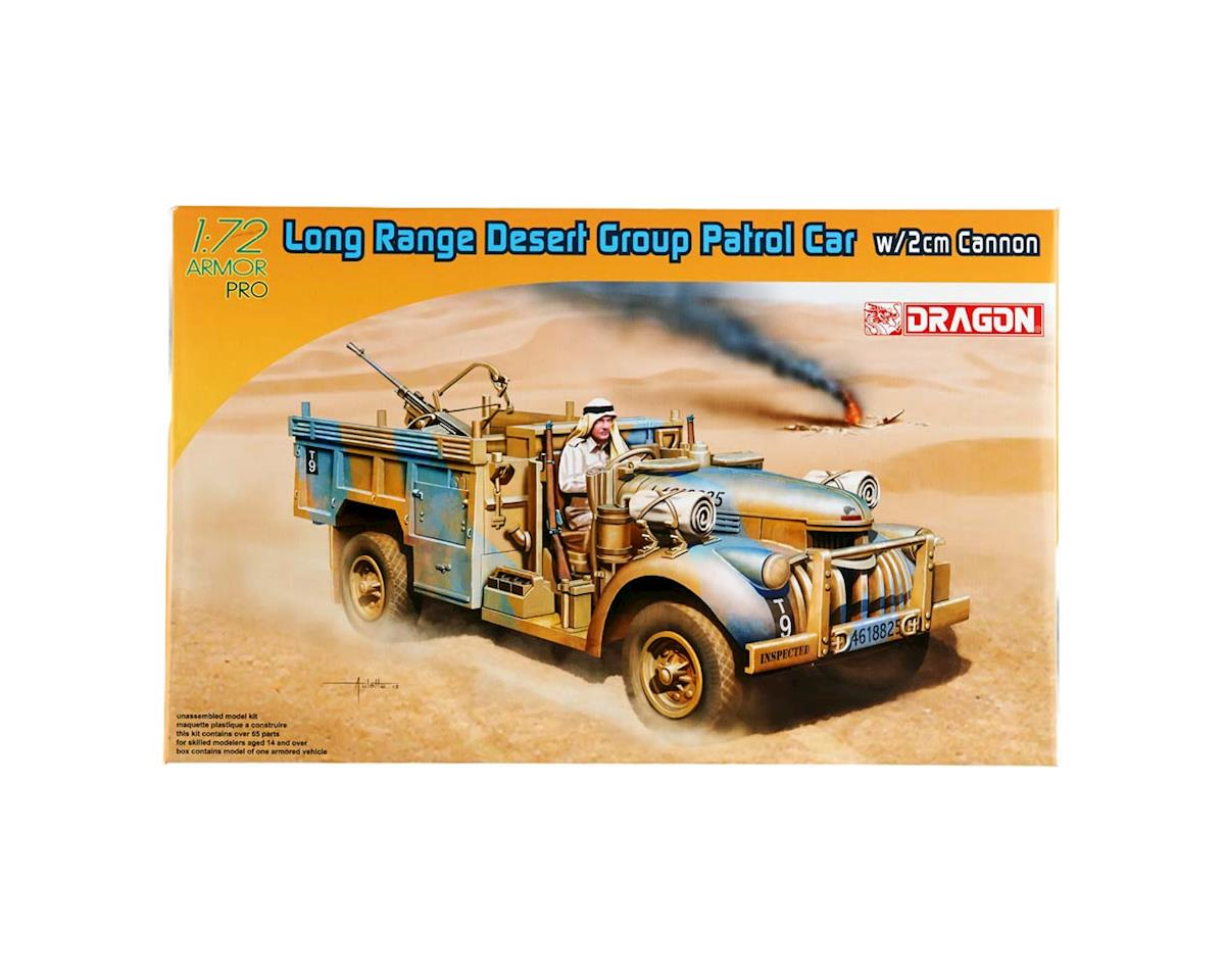 Dragon Models 1/72 Long Range Desert Group Patrol Car 2/2Cm Gun
