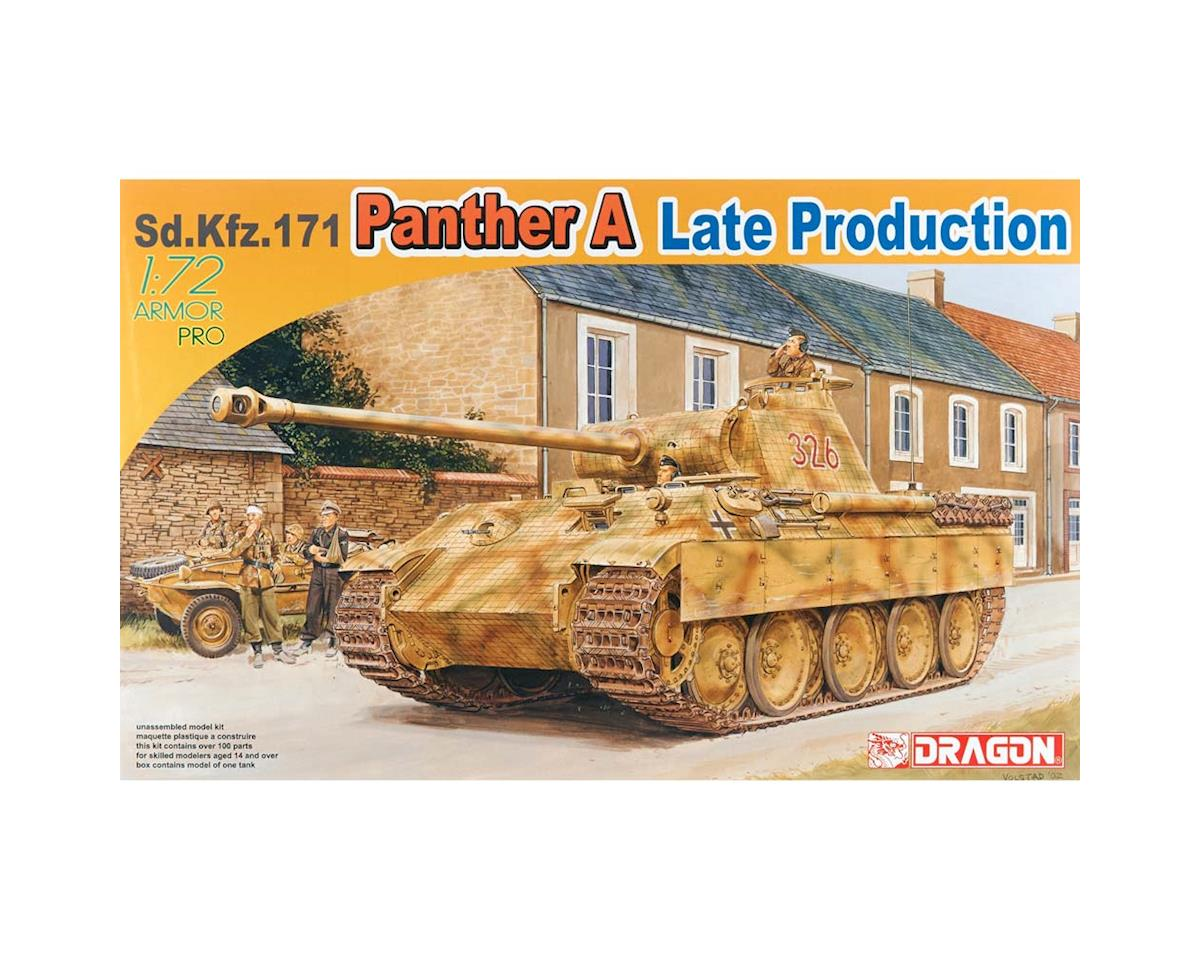 Dragon Models 1/72 Sd.Kfz.171 Panther A Late Production