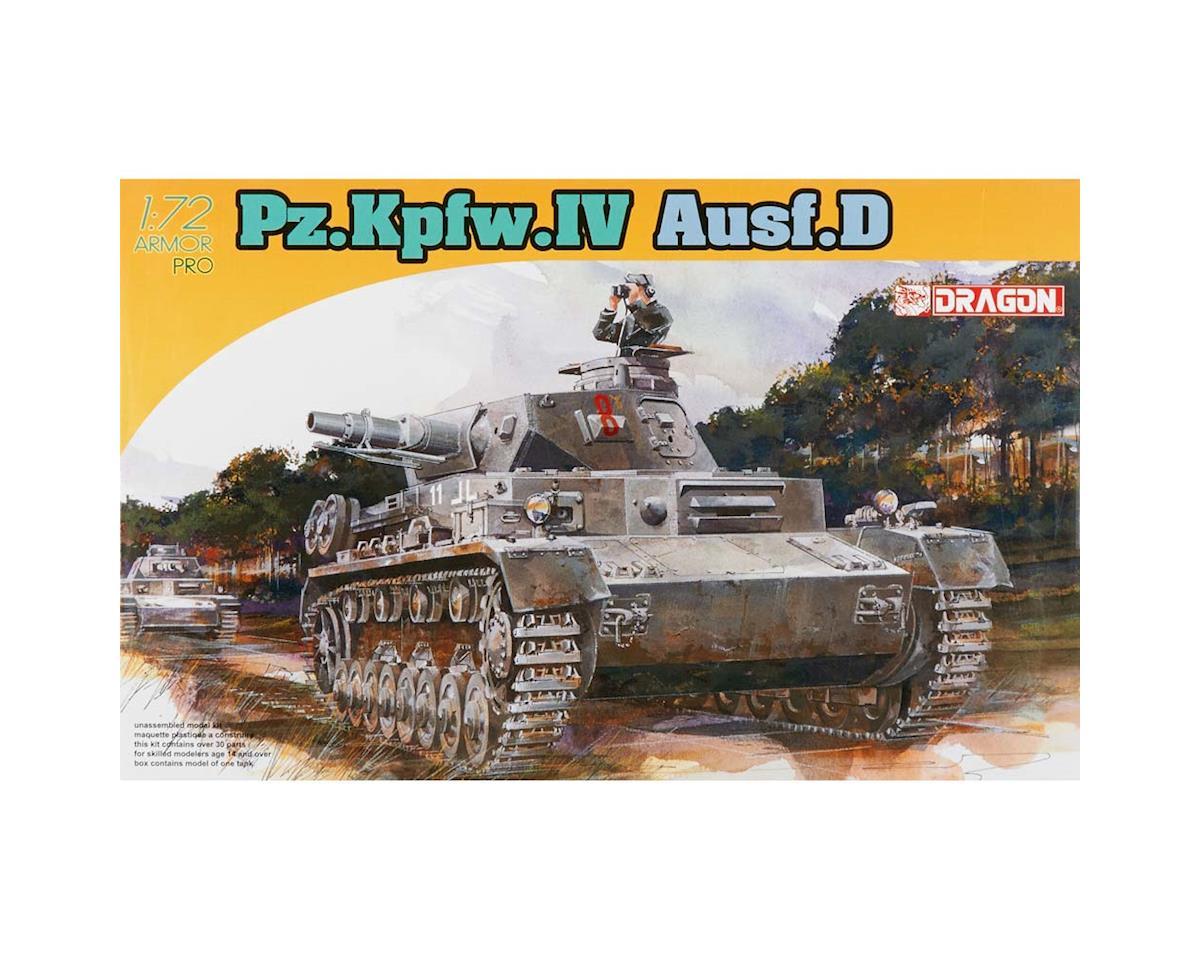Dragon Models 1/72 Pz.Kpfw.Iv Ausf.D