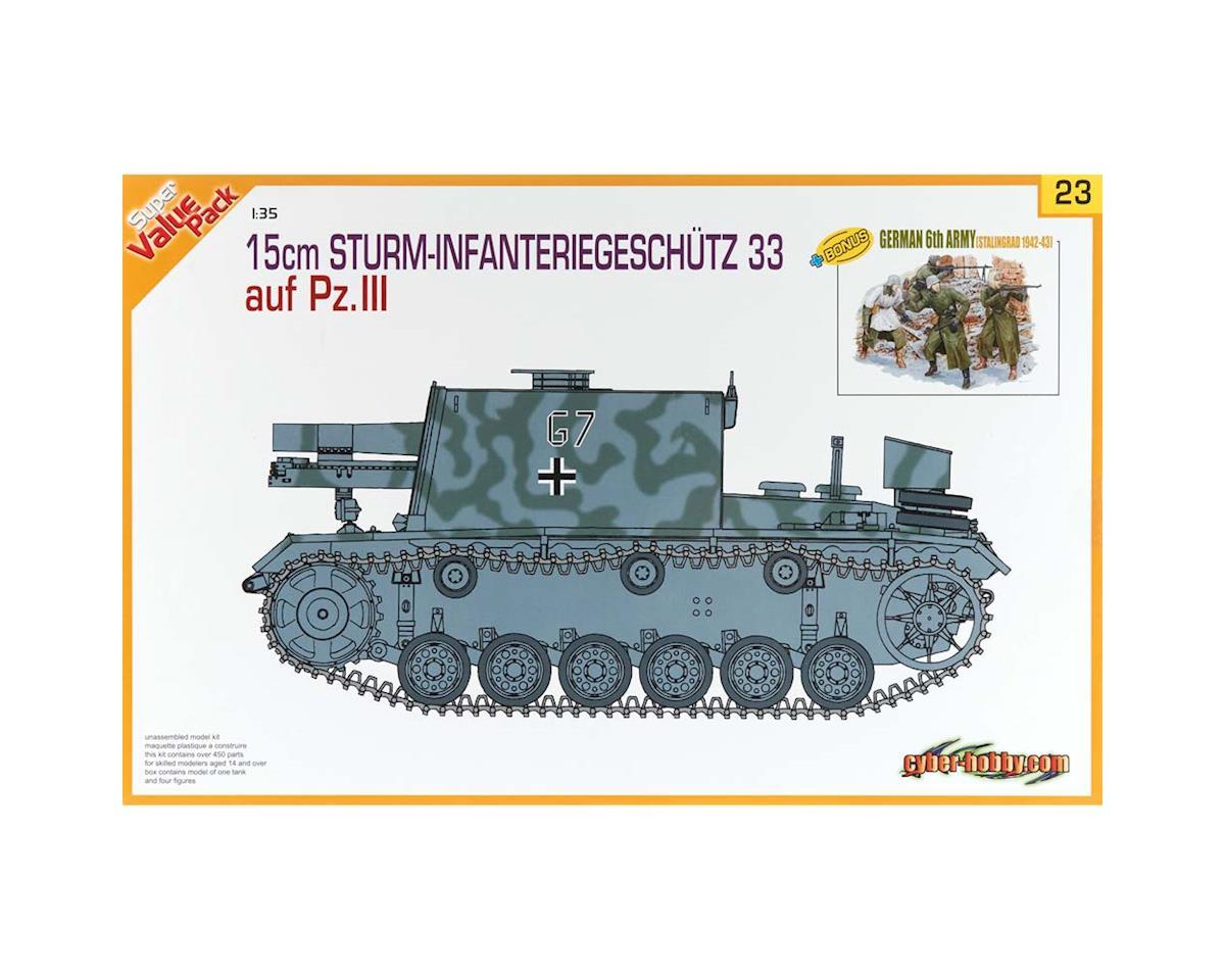 Dragon Models 1/35 15cm Sturm-Infanteriegeschutz 33Ausf. Pz III