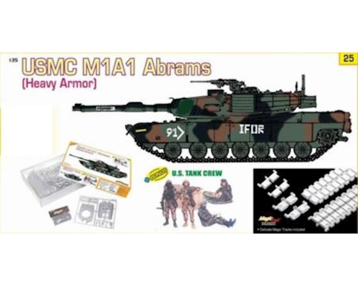 1/35 USMC M1A1 Abrams + US Tank Crew by Dragon Models