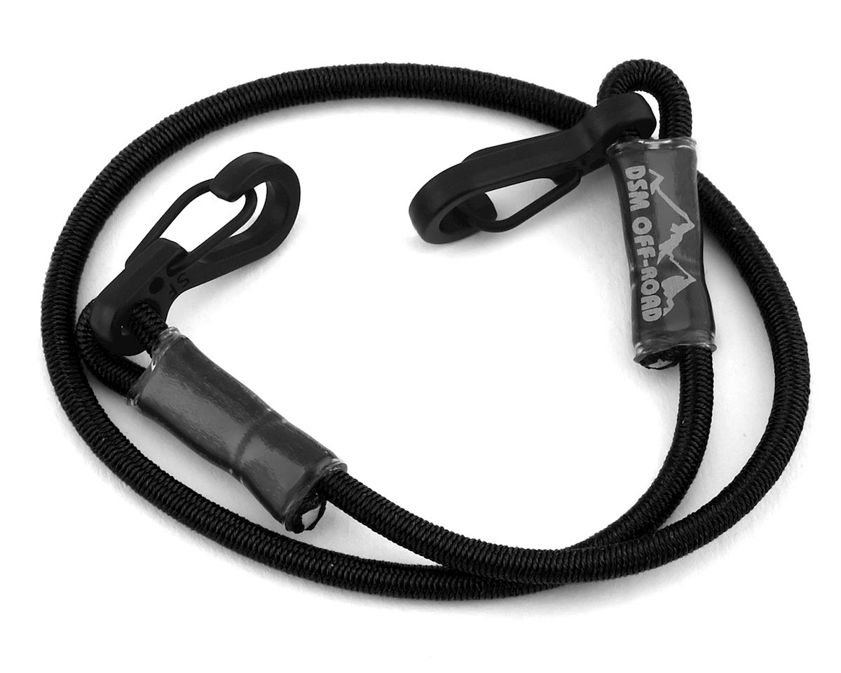 "DSM Off-Road 12"" Scale Kinetic Tow Strap (Black) (RC4WD Trail Finder 2)"