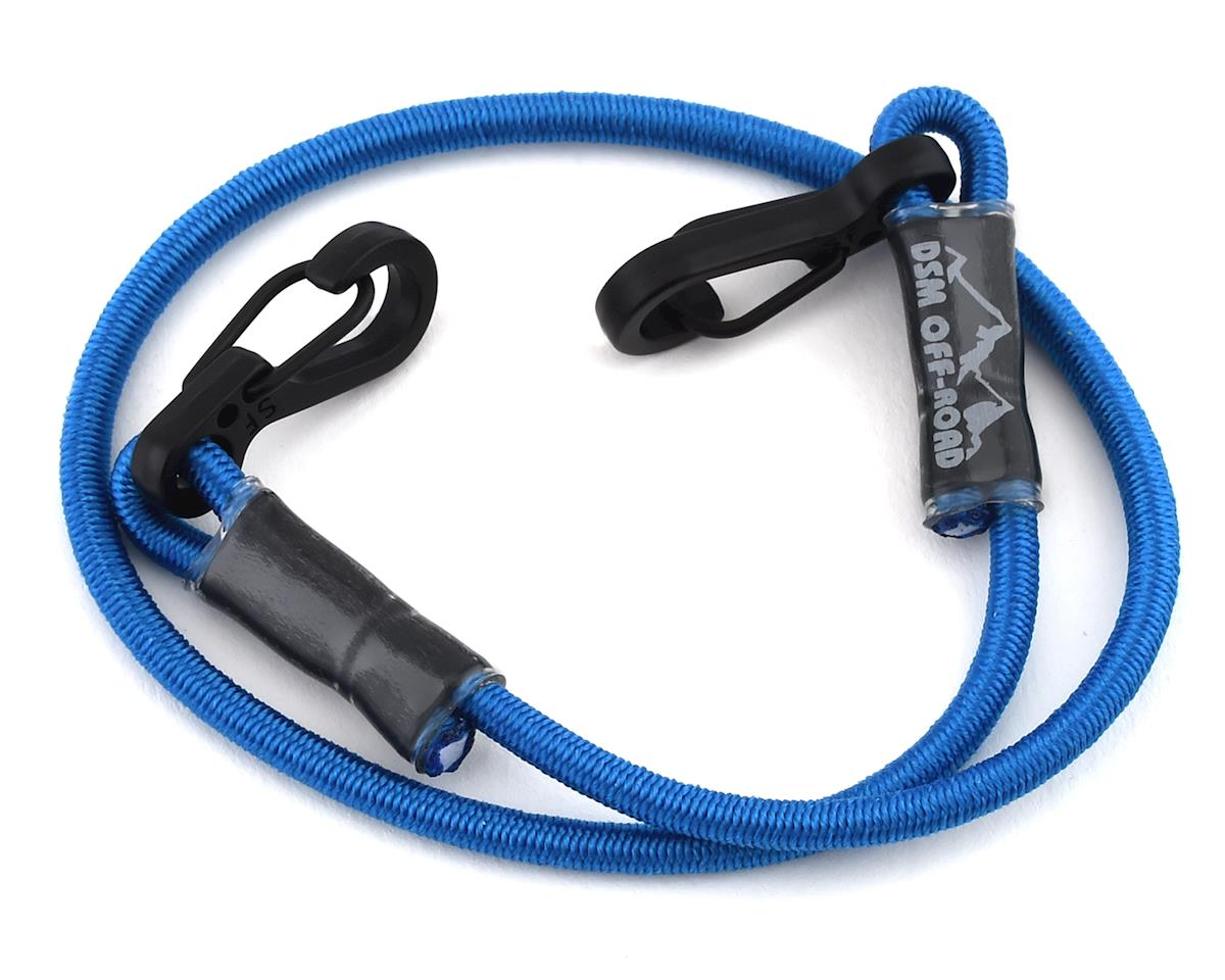 """DSM Off-Road 12"""" Scale Kinetic Tow Strap (Blue)"""