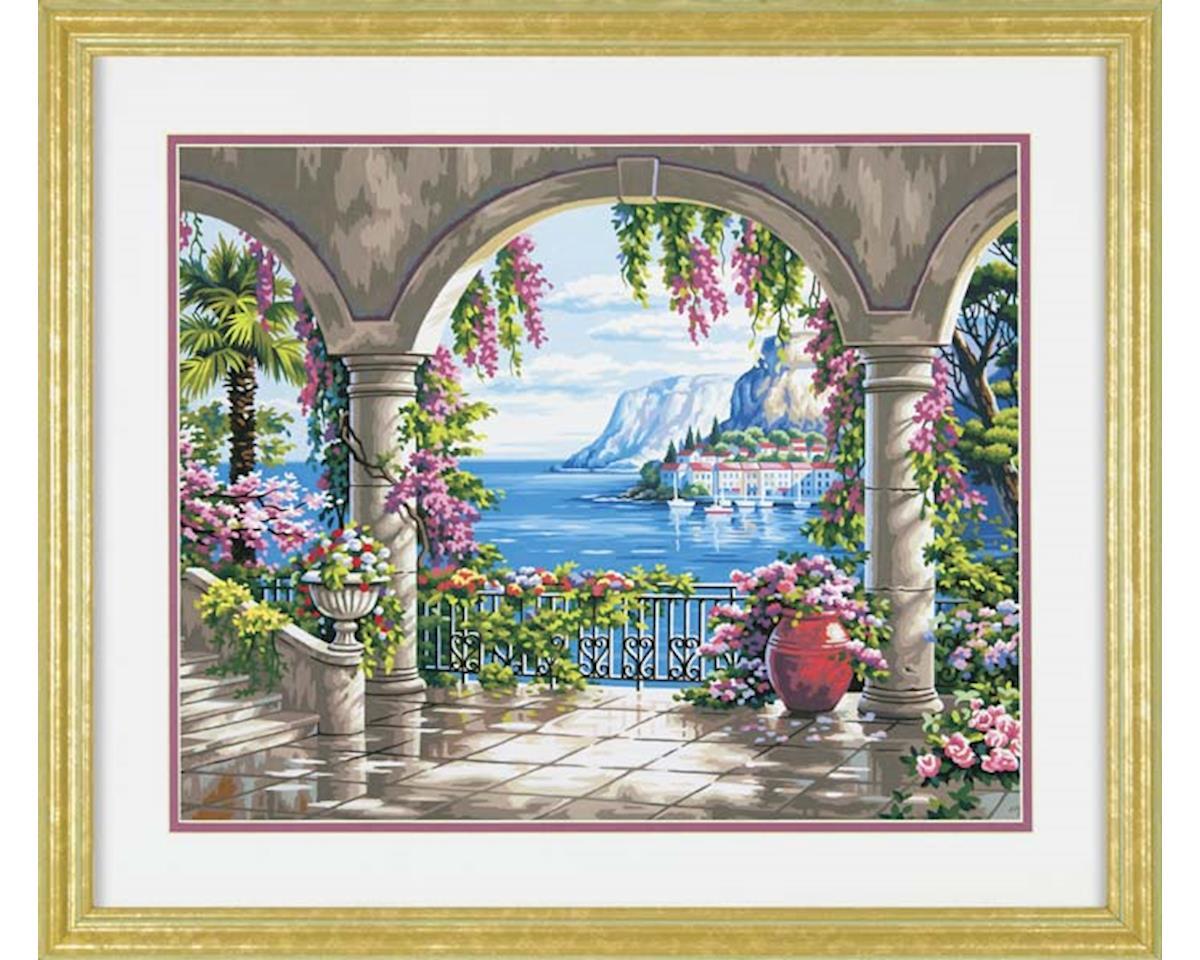 Dimensions 73-91452 Floral Patio PBN