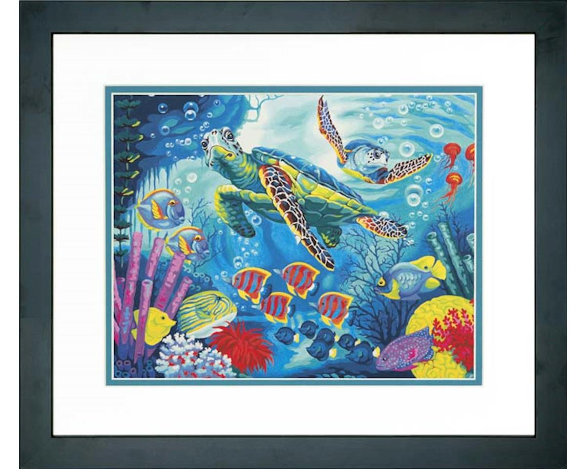73-91454 Sea Turtles PBN by Dimensions