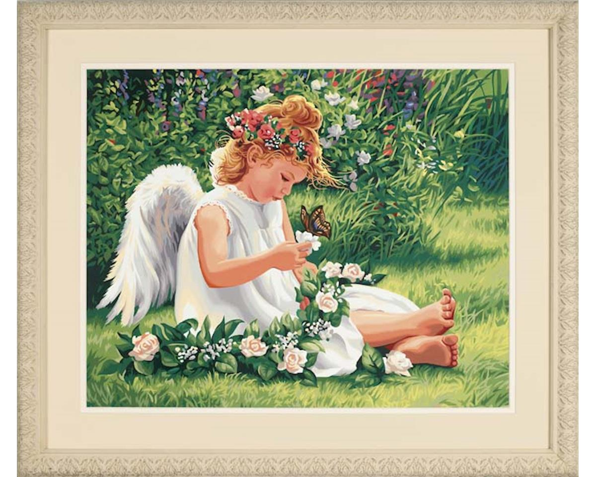 """Paint By Number Darling Angel Paintworks 16"""" X 20"""" by Dimensions"""