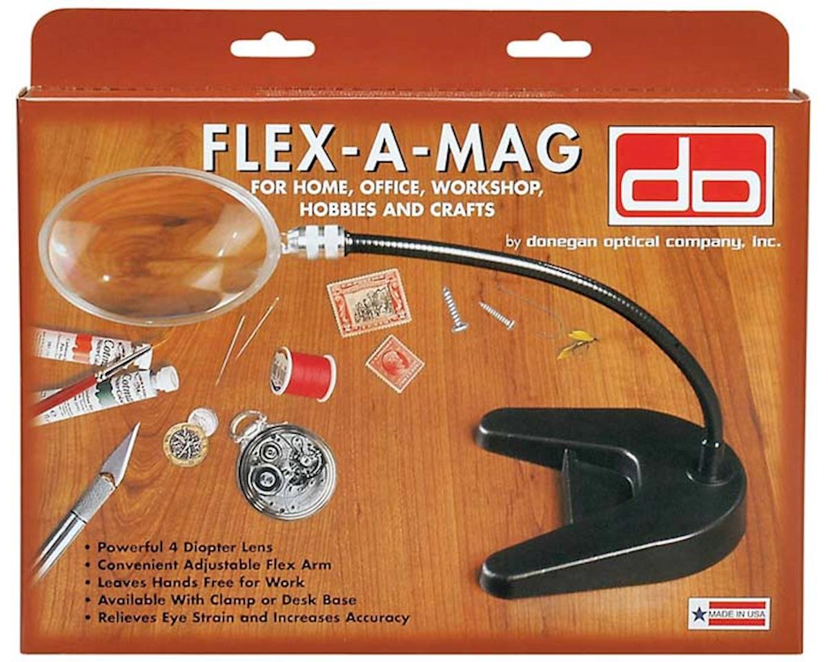 "Donegan Optical 204D Flex-A-Mag 4"" Round Desk Base"
