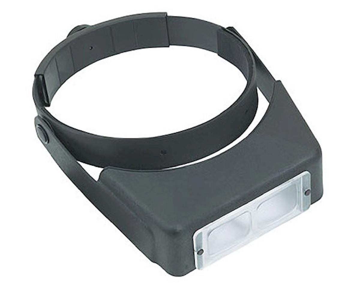 Donegan Optical  Optivisor Glass Lens Binocular Headband Magnifier With Lens Plate 2 X 10""