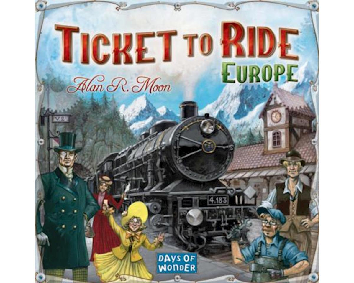 Ticket to Ride - Europe Board Game