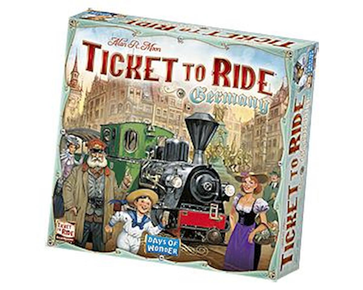 7215 Germany Ticket to Ride Board Game