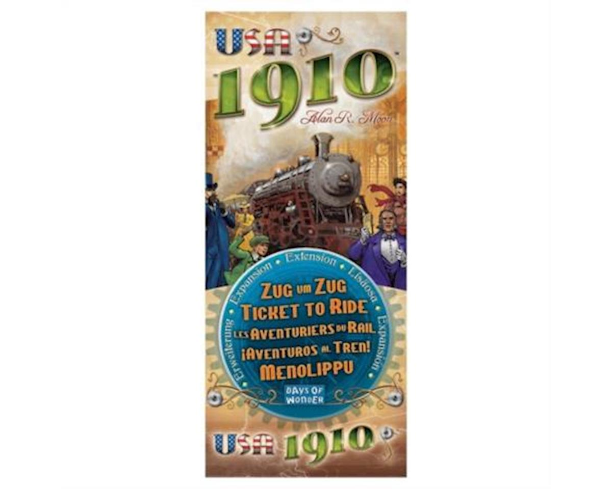 Days Of Wonder Ticket To Ride: USA 1910 Expansion