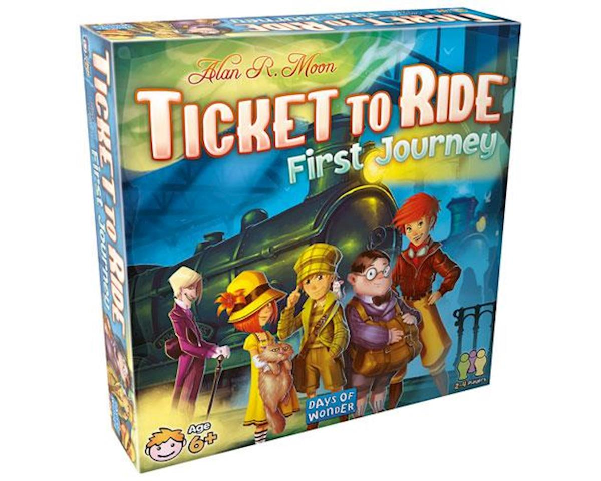 Days Of Wonder Ttr First Journey Ticket To Ride