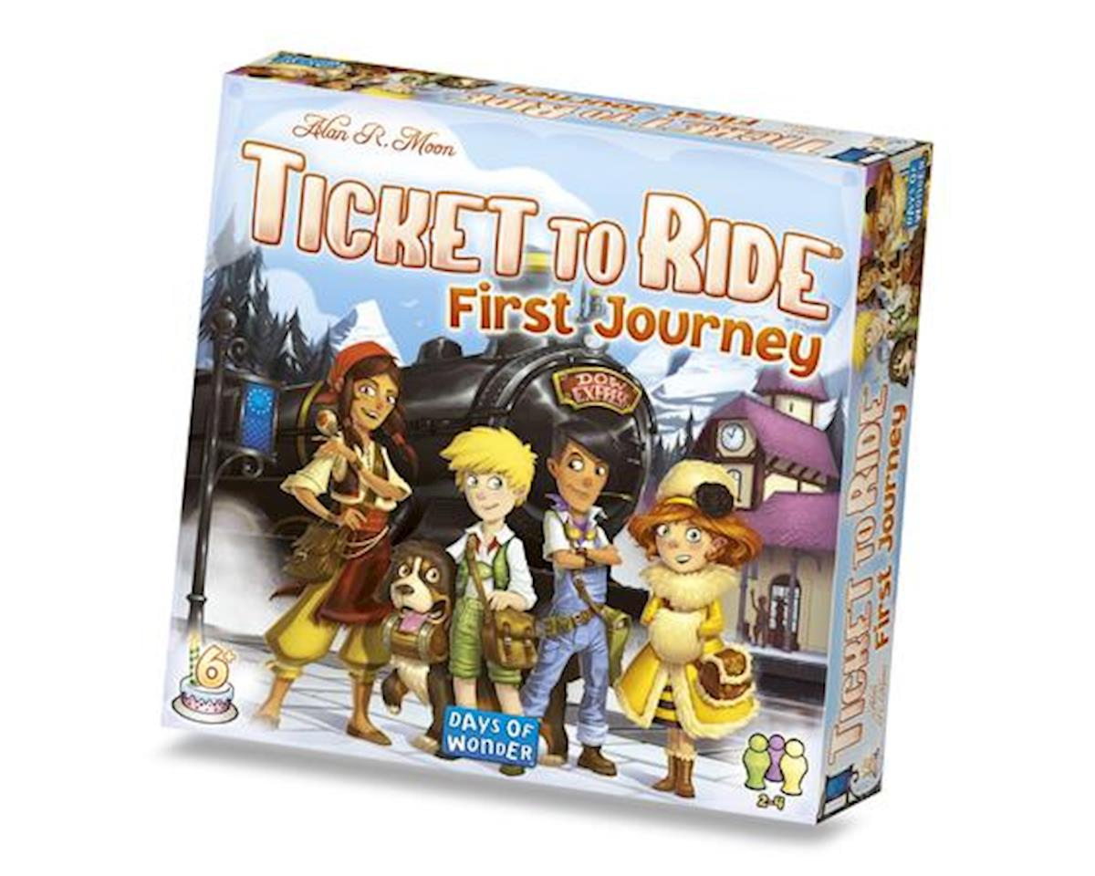 Fantasy Flight Games Ticket to Ride: Europe: First Journey Board Games