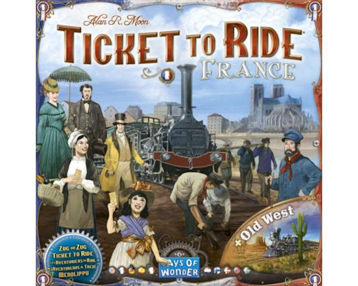 7228 France Ticket to Ride Board Games