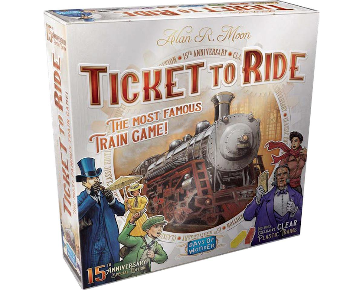 Days Of Wonder Ticket To Ride Us 15Th Anniv Editio