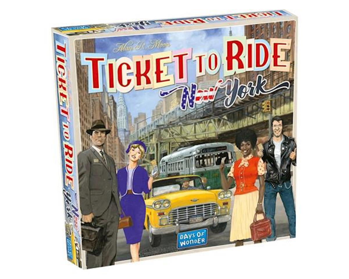 Days Of Wonder Ticket To Ride New York Game 6/19