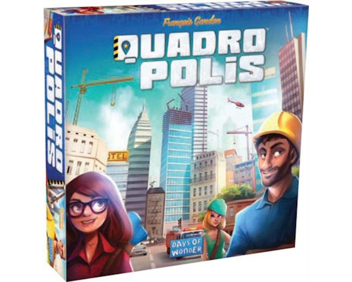 Days Of Wonder Quadropolis Game 3/16