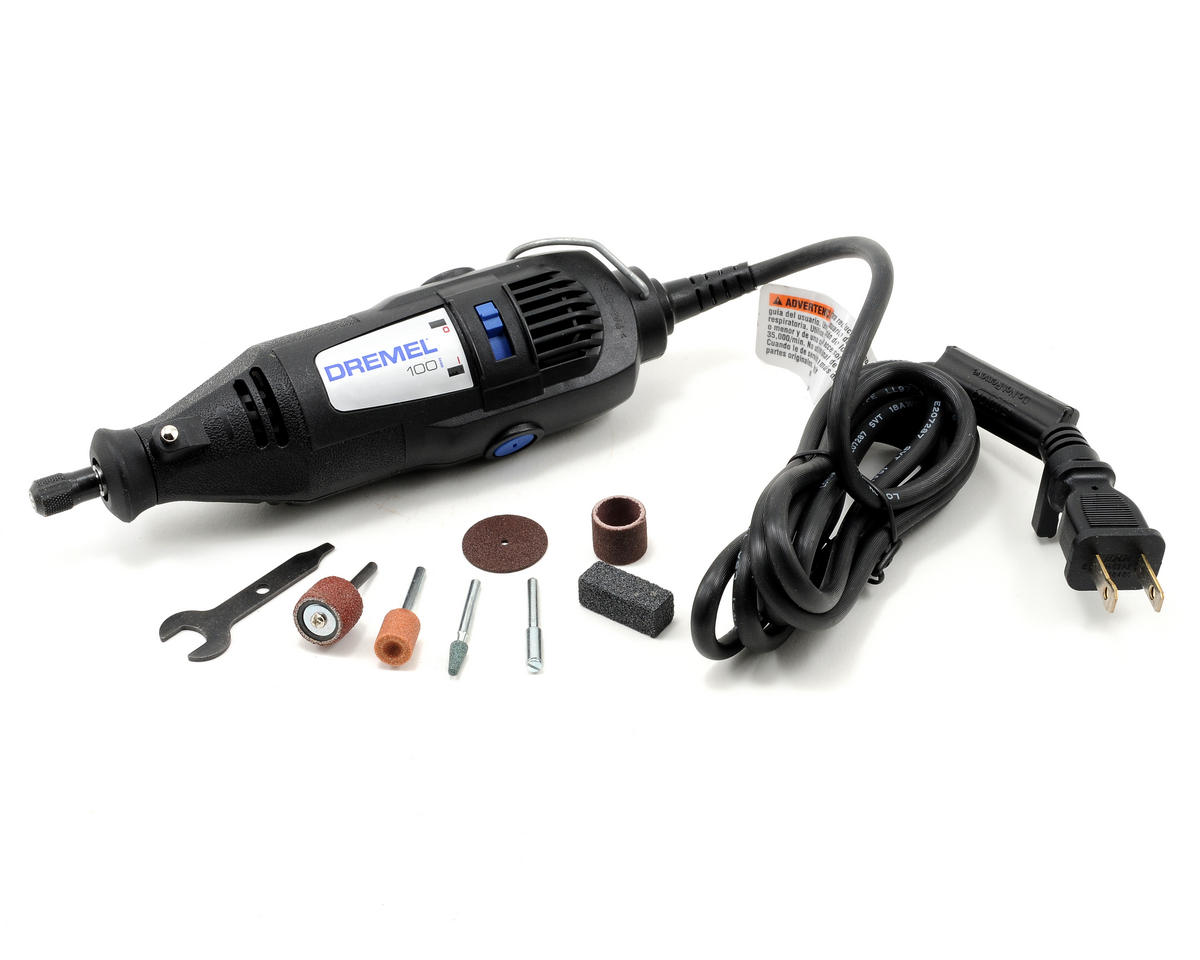 100 Series Single Speed Rotary Tool Kit w/7 Accessories by Dremel