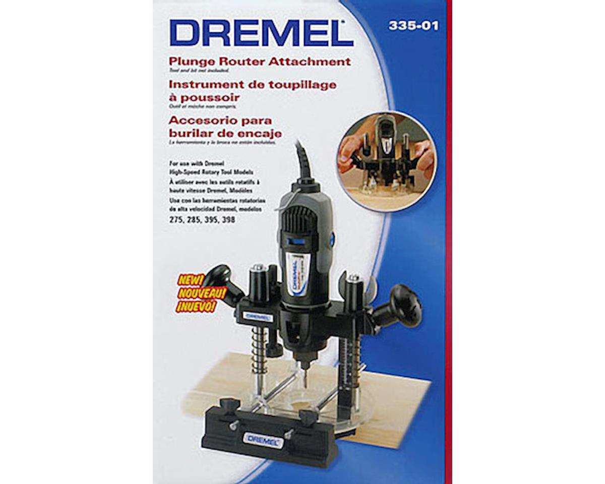 335 Plunge Router Attachment by Dremel