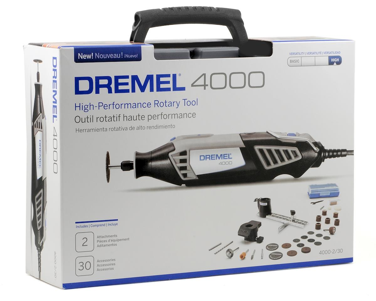 Dremel 4000 Series High Performance Rotary Tool Kit w/30 Accessories