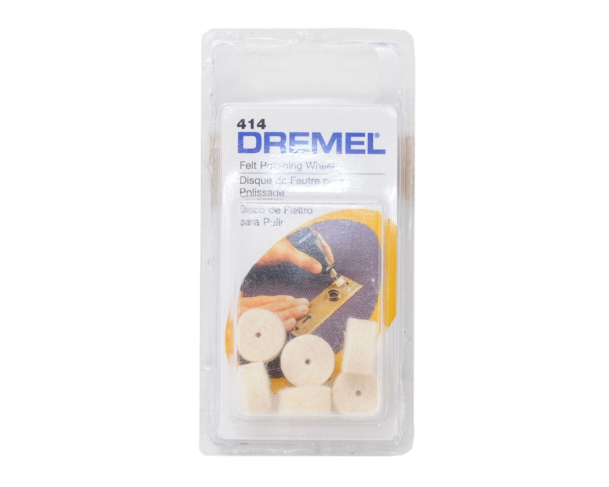 "Dremel Felt Polishing Wheel,1/2"" Diameter"