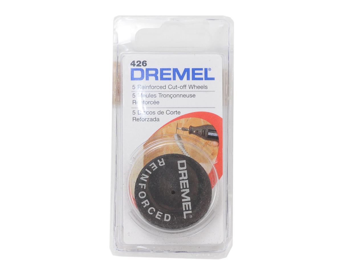 "Dremel 1-1/4"" HD Fiberglass Cutoff Wheel (5)"