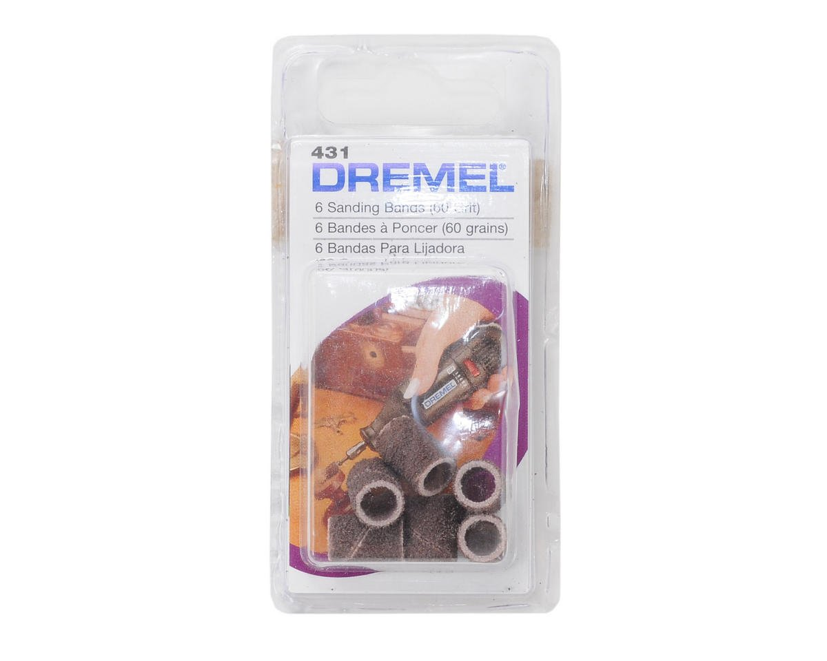 "1/4"" Sander Bands (6) (Coarse) by Dremel"