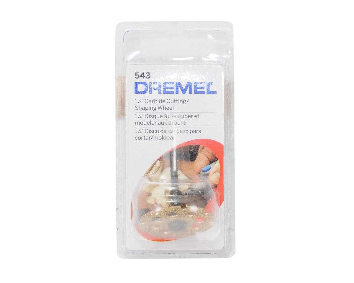 "Dremel 1-1/4"" Carbide Cutting/Shaping Wheel"