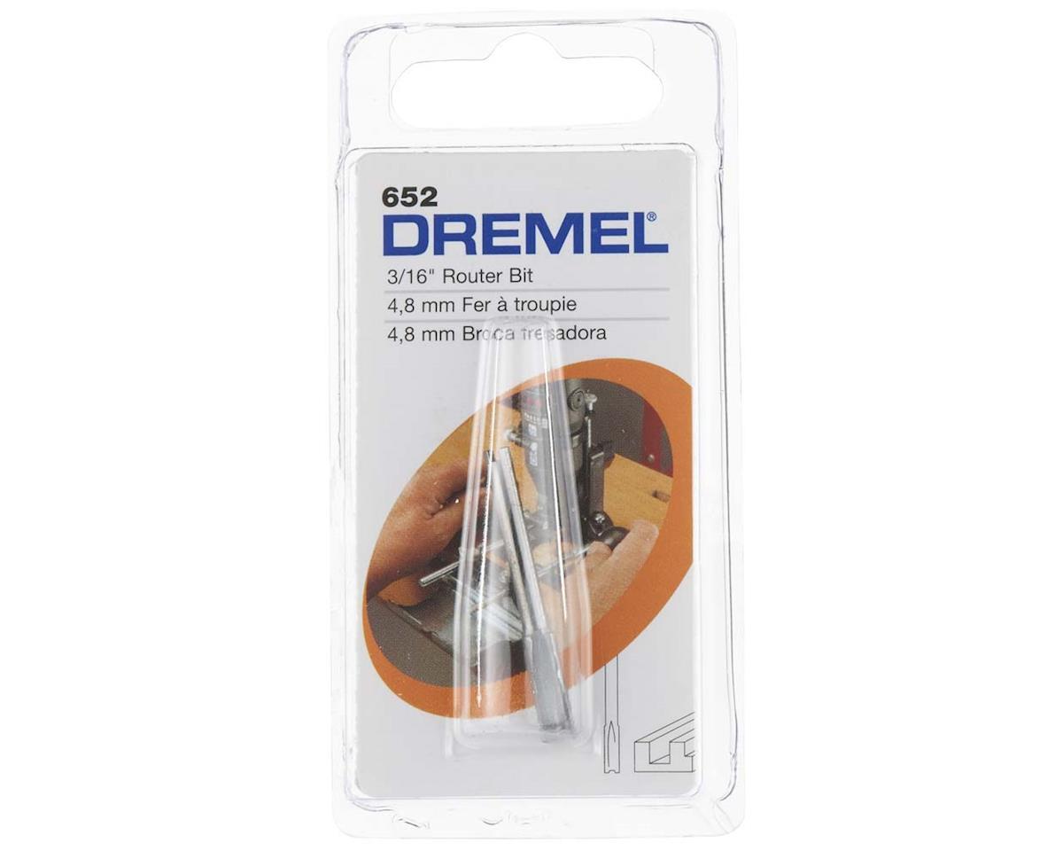 "Dremel 652 Routing Bit Straight 3/16"""