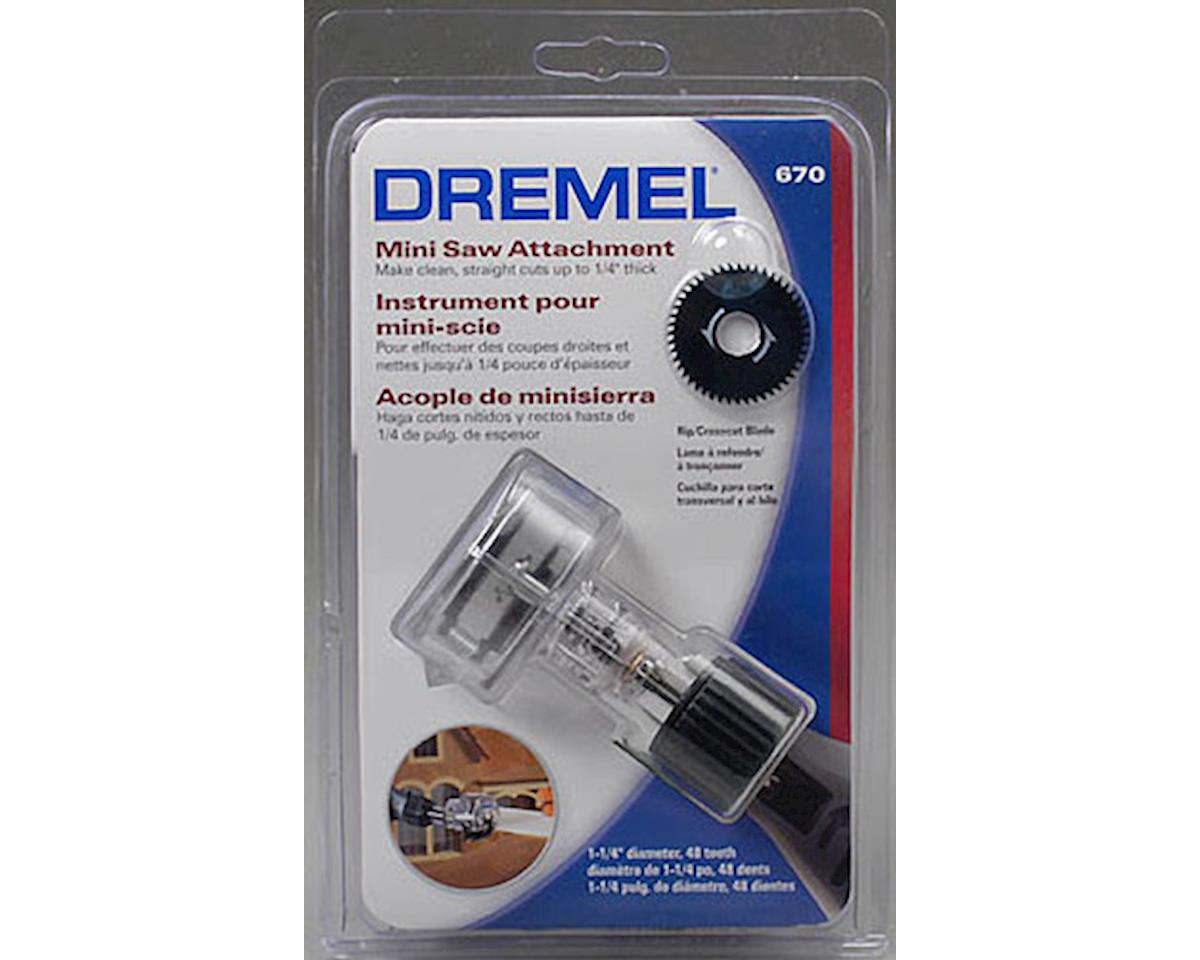 Dremel 670-01 Mini Saw Attachment Rotary Tool