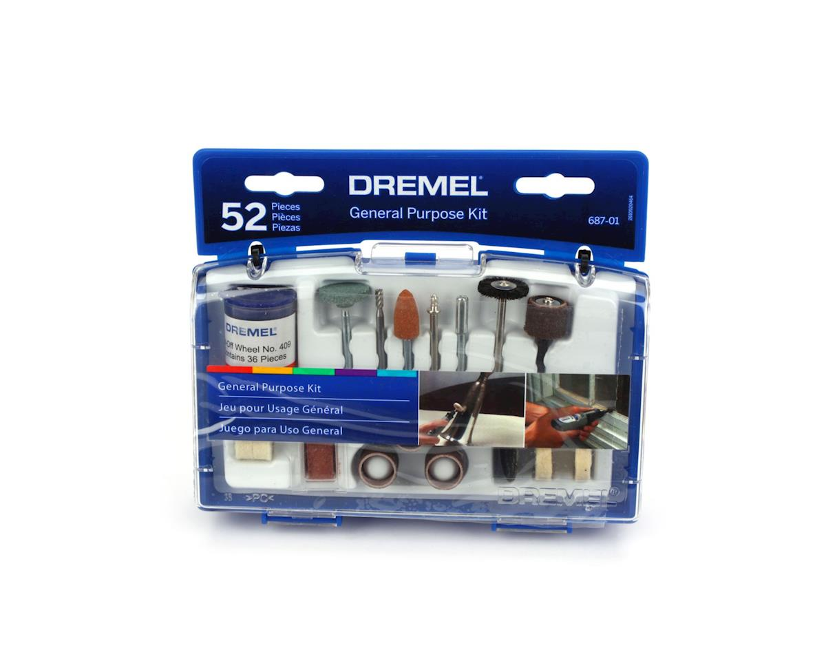 Dremel GENERAL PURPOSE SET (52 PCS)