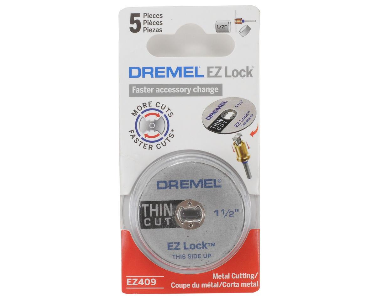 """Dremel EZ Lock 1-1/2"""" Thin Cut Cut-off Wheels (5)"""