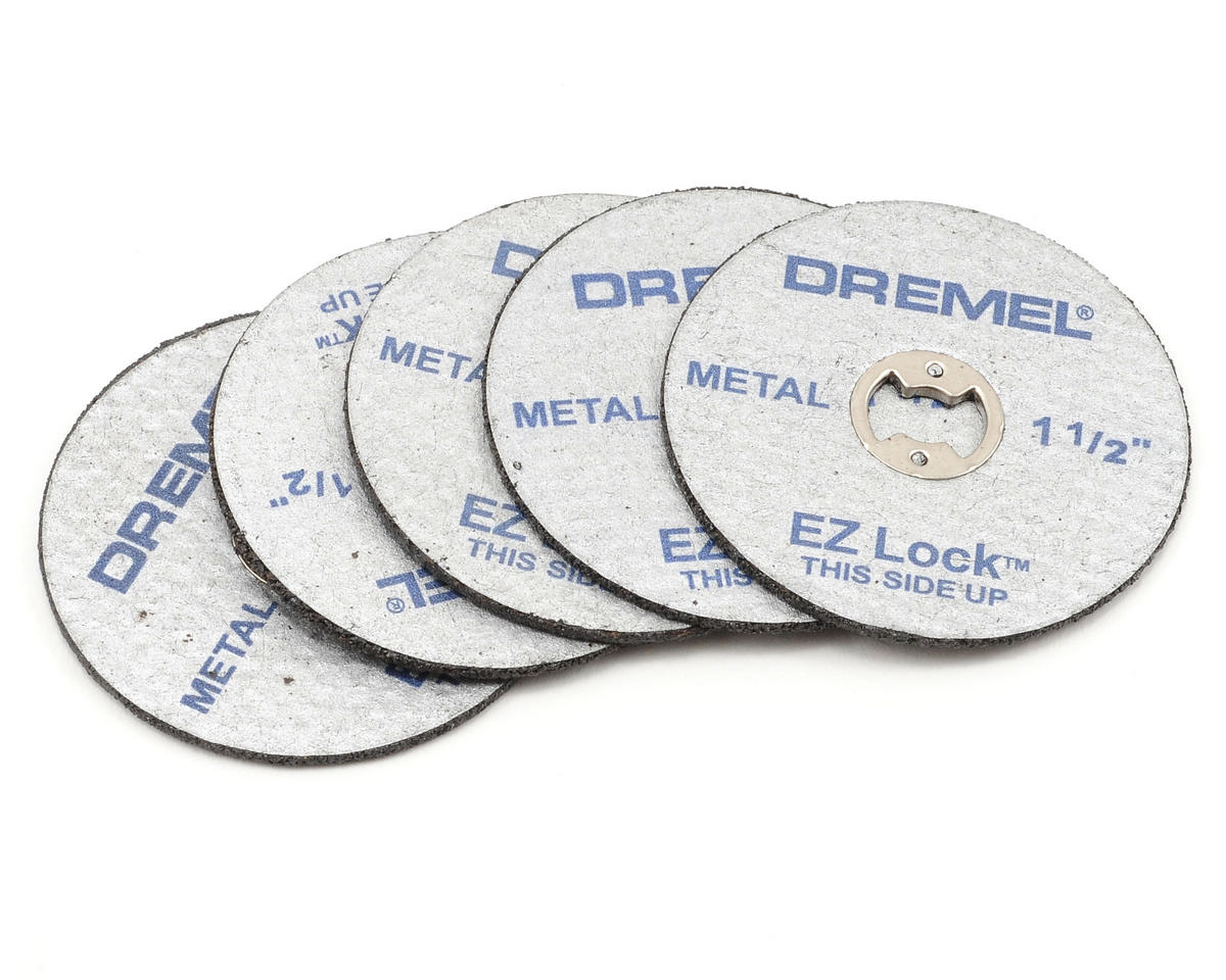 EZ Lock System Metal Cutoff Wheels (5) by Dremel
