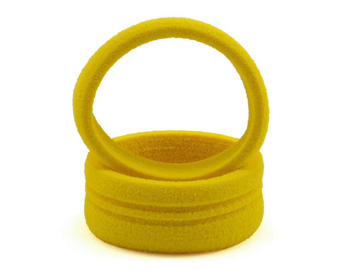 Dirt Wheel Foam Grip (Yellow) (2) by Dirt Racing