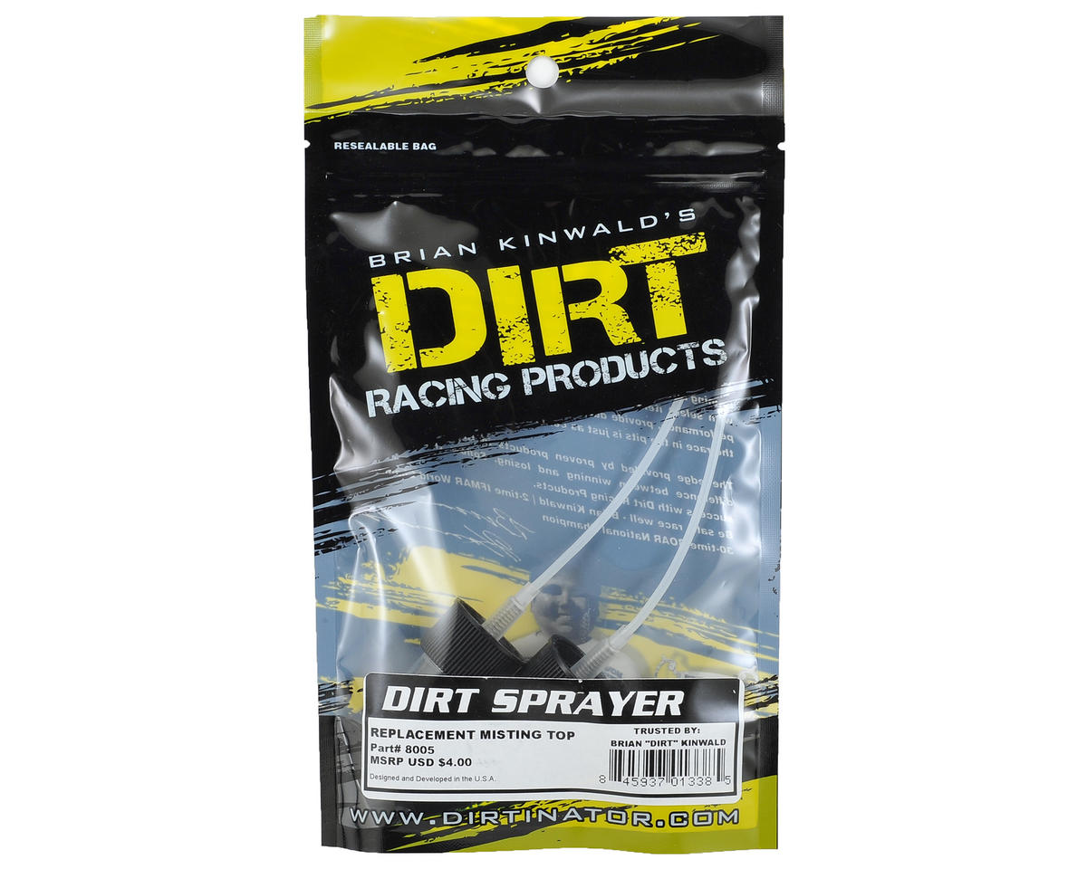Dirt Racing Misting Spray Top