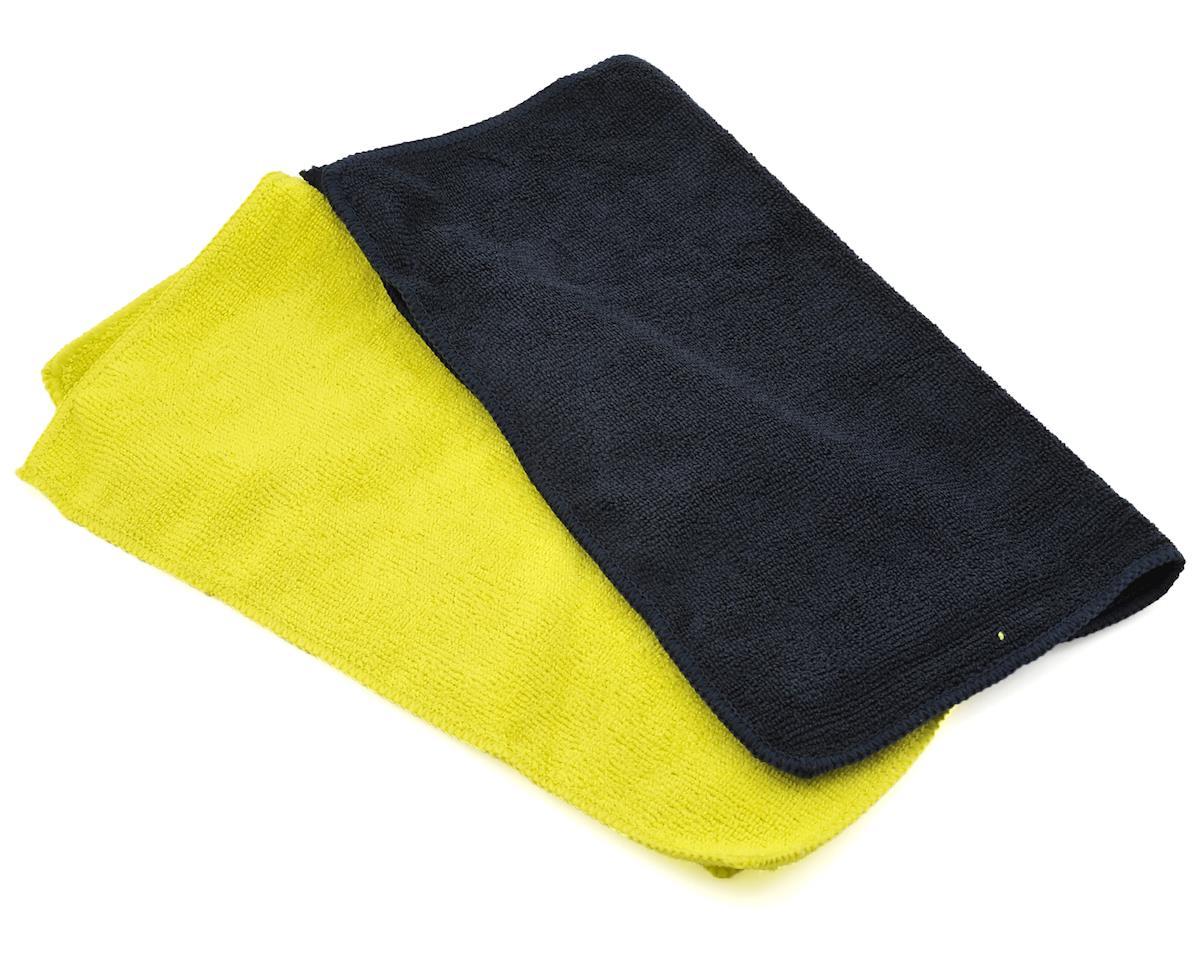 Microfiber Towel (2) (Black & Yellow) by Dirt Racing