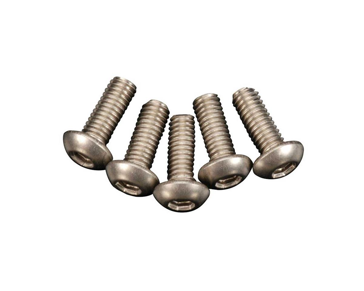 DuraTrax Titanium Button Hex Screw M3x8 (5)
