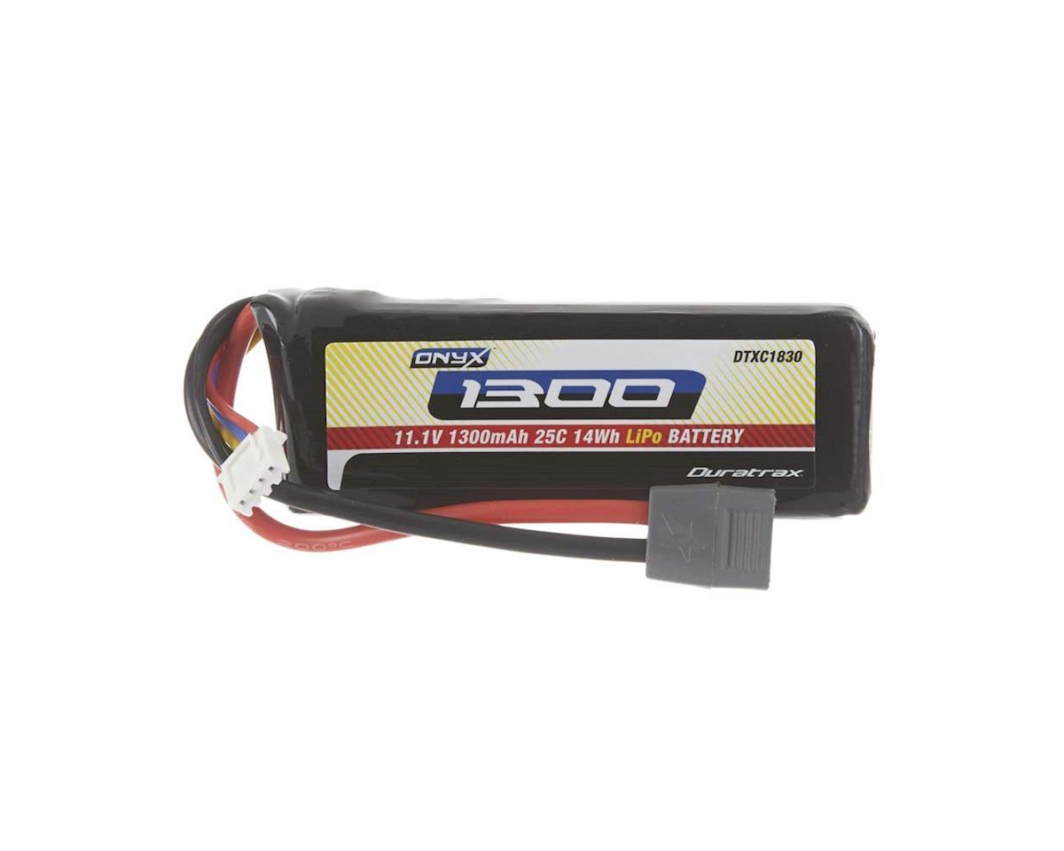 LiPo Onyx 3S 11.1V 1300mAh 25C Soft Case Star Plug by DuraTrax